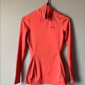 Coral Under Armour shirt!
